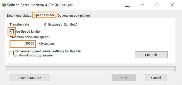 Setting Kecepatan Download Hingga 30Mbps di IDM
