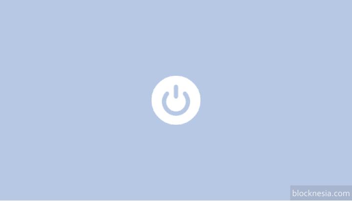 Aplikasi Pengganti Tombol Power On / OFF