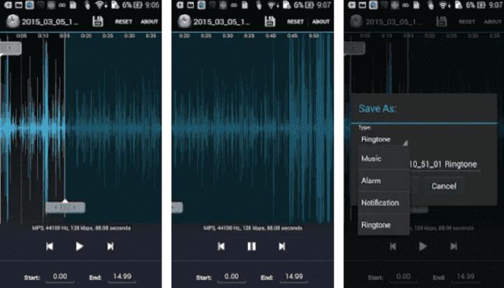 Potong dan Sambung Lagu MP3 di Android