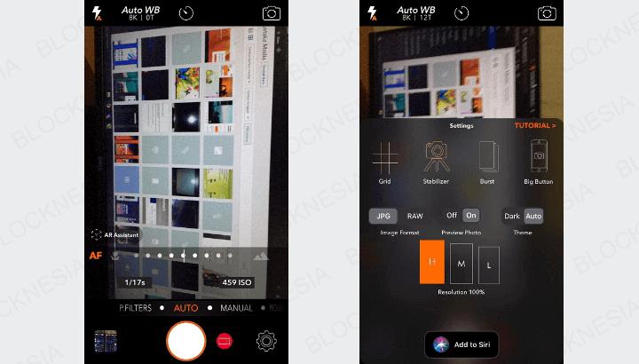 Aplikasi Kamera Android Autofocus S60V3 APK