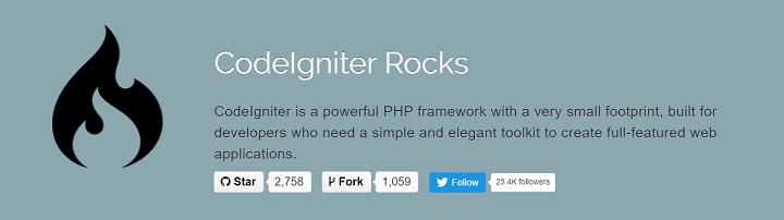 Codeigniter Web Framework