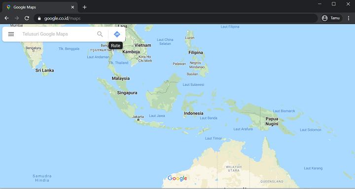 Gmaps Untuk Cek Lokasi Nomor HP