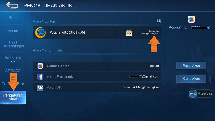 Membuat Akun Moonton Mobile Legends
