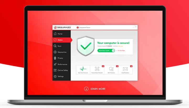 Hapus Aplikasi Segurazo Antivirus Secara Permanen