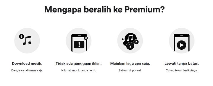 Bagi-bagi Akun Spotify Premium Gratis