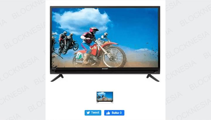 Cara Screen Mirror HP Android ke TV Sharp Aquos Tanpa Kabel USB