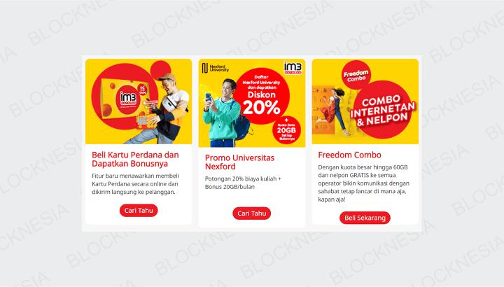 Kumpulan Kode Voucher Indosat IM3 Ooredoo Bonus Kuota Gratis