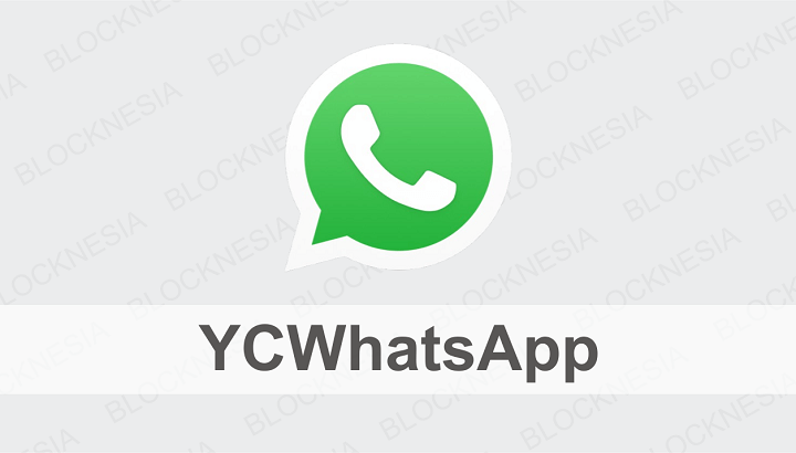 YCWhatsApp MOD iOS Terbaik