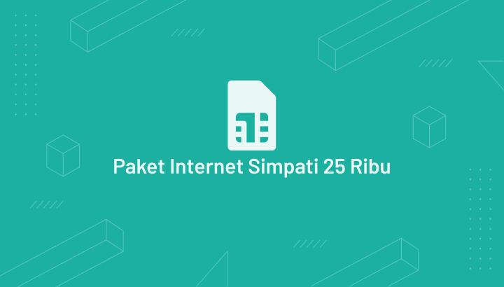 paket Internet Simpati Bulanan 25000