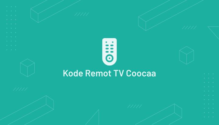 Kode Remot TV Coocaa