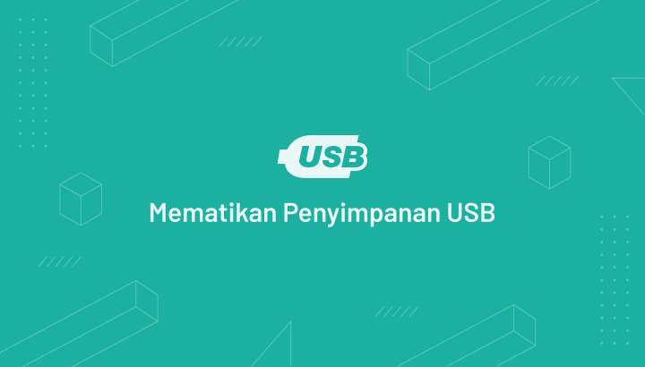 Cara mematikan Penyimpanan USB