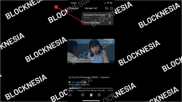 Simpan Video Drama Korea ke Galeri